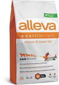 Alleva Equilibrium All Day Maintenance Chicken & Ocean Fish All Breeds (Аллева Эквилибриум Мэйтенанс Курица и рыба для собак всех пород) 2кг