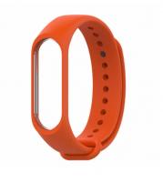Силиконовый ремешок для Xiaomi Mi Band 3/4 (Коралловый )