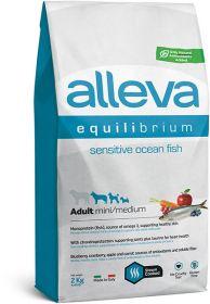 Alleva Equilibrium Sensitive Ocean Fish Mini/Medium (Аллева Эквилибриум Сенситив Океаническая Рыба для собак мелких и средних пород) 2кг