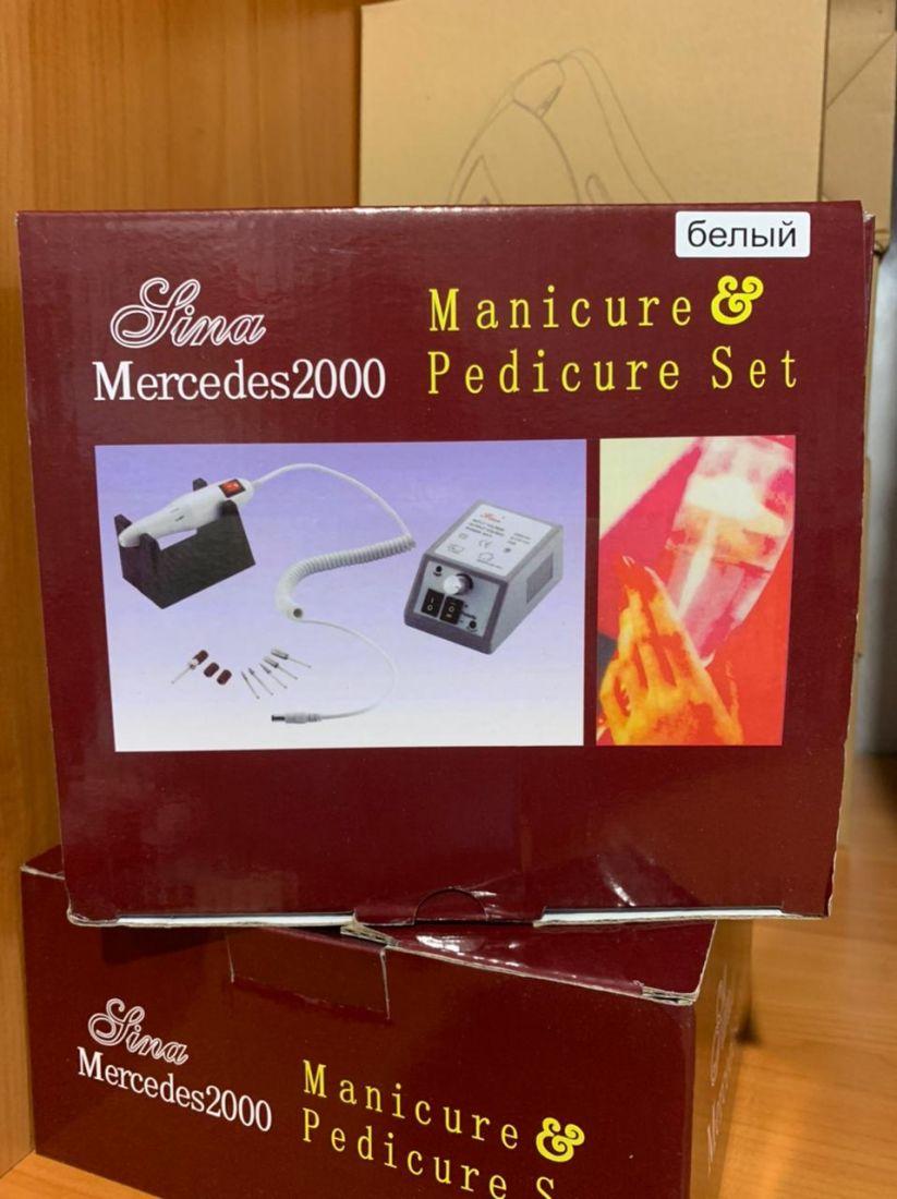 Машинка для маникюра и педикюра 20000 оборотов Mercedes 2000, Обновленная, улучшенная модель! (цвета различные)