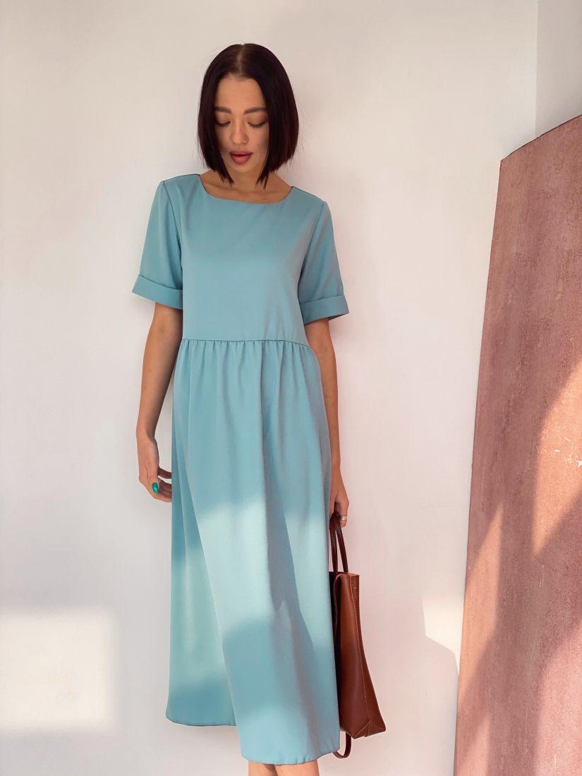 4542 Платье-миди в цвете London