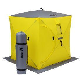 Палатка для зимней рыбалки Helios Куб 1,8х1,8 HS-ISC-180YG