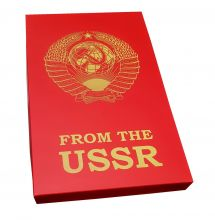 FROM The USSR! Retro set with vintage symbols of children's and youth organizations of the USSR. Экспортный вариант.