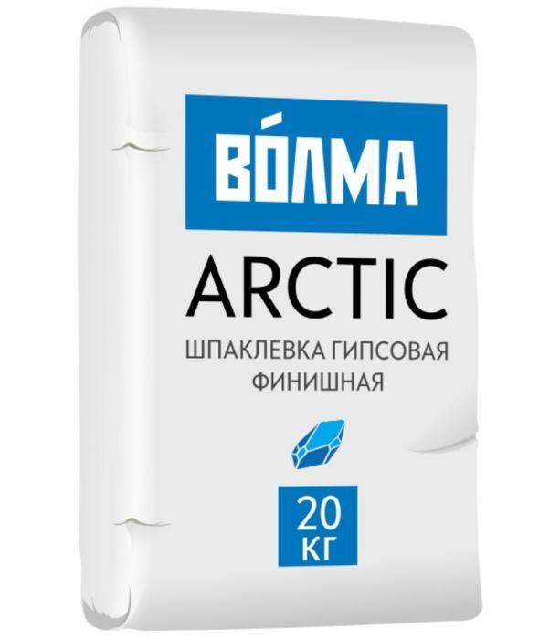 Шпаклевка гипсовая Волма Арктик финишная 20 кг