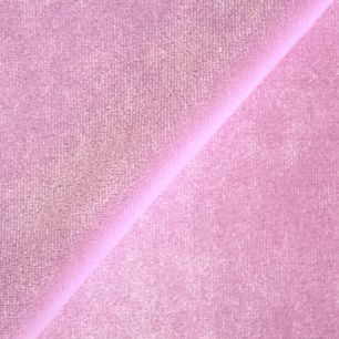 Бархат стрейч - Перламутрово-розовый 50х40