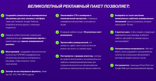 [PowerPoint] Пак из 2800 Анимированных шаблонов для рекламы. [GorgeousAdvert]
