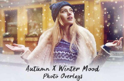 [PNG] Набор Наложений для Фотографий - Осень и Зима - 410 штук