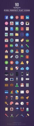 [MightyDeals] 90 иконок в PSD формате