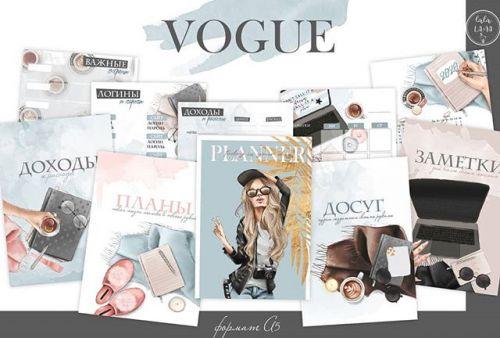 [lalalama_pages] Набор страниц для планера «Vogue»