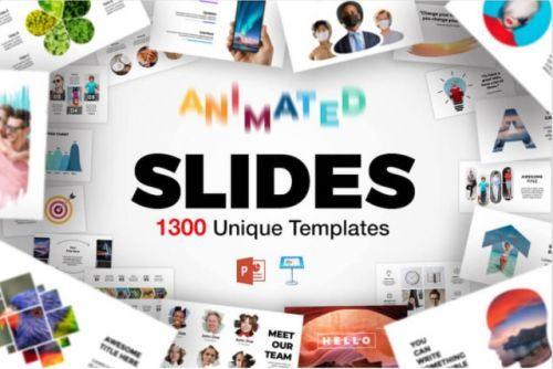 1300 Шаблонов Презентаций для PowerPoint & Keynote [mightydealst]