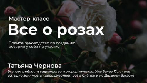 Все о розах. Полное руководство по созданию розария у себя на участке (Татьяна Чернова)