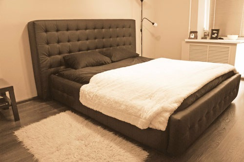 Мягкая каркасная кровать своими руками (Михаил Теремков)