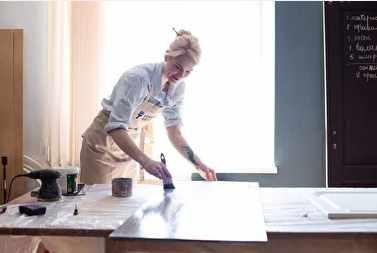 Как перекрасить кухню самостоятельно (Анастасия Воронина)