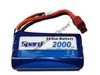 Аккумулятор Spard Li-Ion 2S 7.4в 2000mah