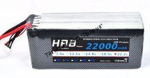 Аккумулятор Li-Po HRB 22000мач 25с