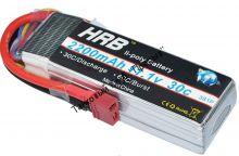 Аккумулятор Li-Po HRB 2200мач 30с
