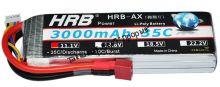 Аккумулятор Li-Po HRB 3000мач 35с