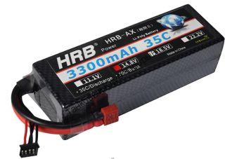 Аккумулятор Li-Po HRB 3300мач 35с БОКС