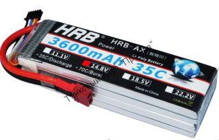 Аккумулятор Li-Po HRB 3600мач 35с