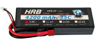 Аккумулятор Li-Po HRB 4200мач 35с БОКС