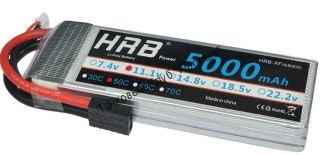 Аккумулятор Li-Po HRB 5000мач 50с