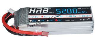 Аккумулятор Li-Po HRB 5200мач 50с