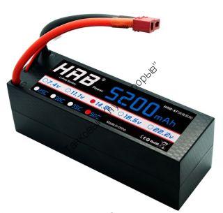 Аккумулятор Li-Po HRB 5200мач 50с БОКС