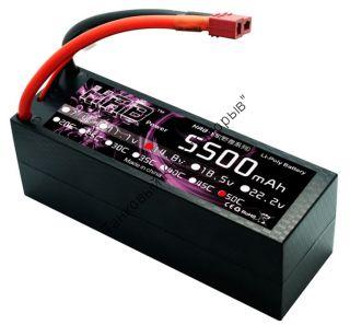 Аккумулятор Li-Po HRB 5500мач 50с БОКС