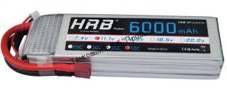 Аккумулятор Li-Po HRB 6000мач 50с