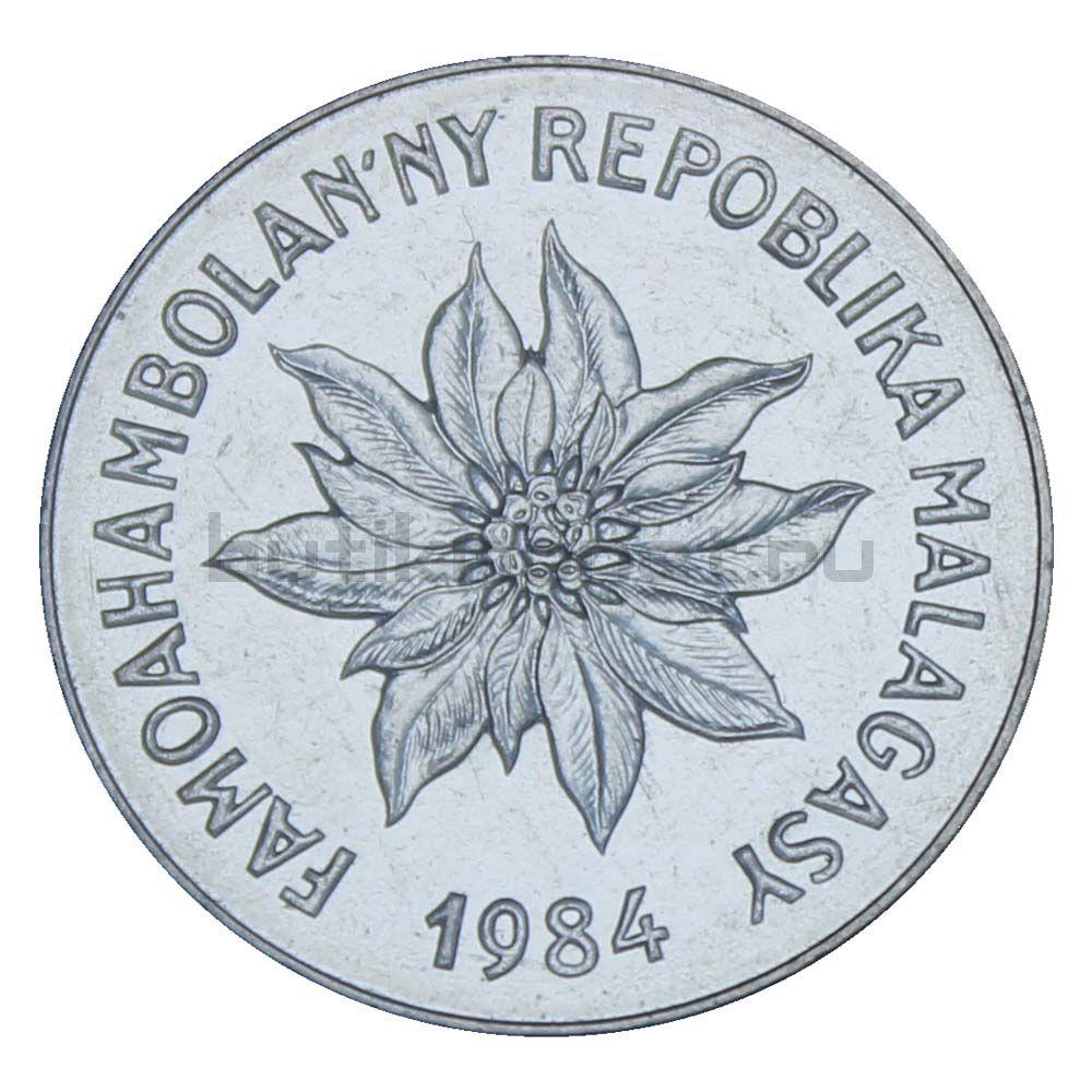 5 франков 1984 Мадагаскар