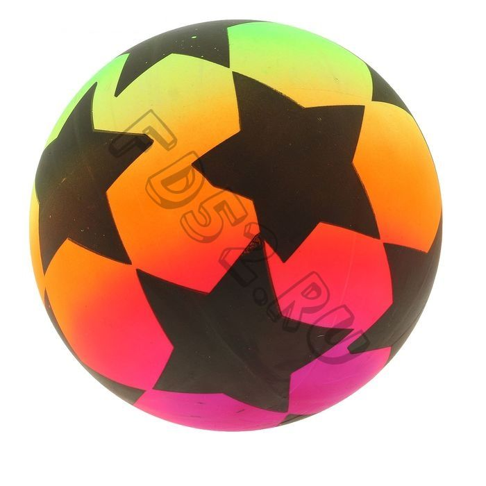 Мяч детский  d=22 см, 60 г, цвета МИКС