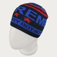 зм1203-58 Шапка колпачок вязаная Extreme boy темно-синяя