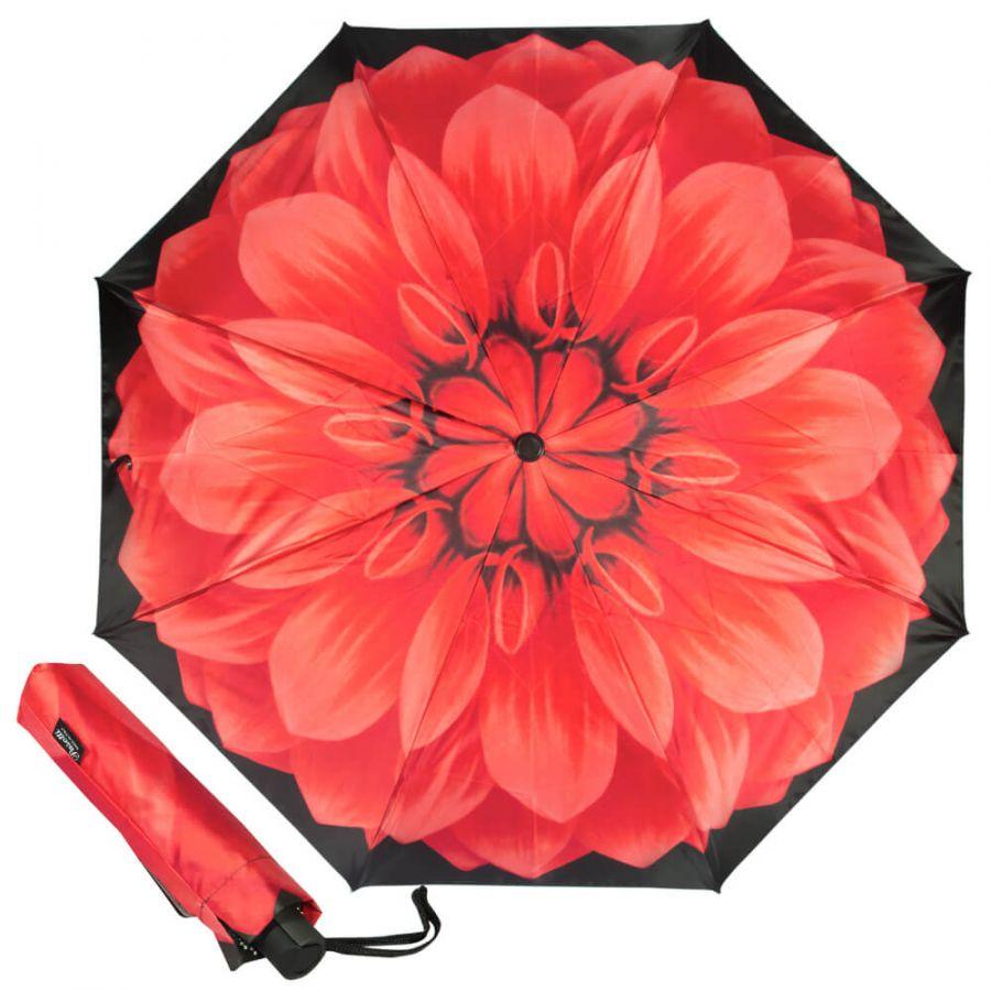 Зонт складной Pasotti Mini Georgin Rosso