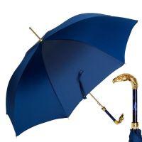 Зонт-трость Pasotti Eagle Gold Oxford Blu