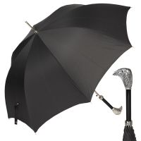 Зонт-трость Pasotti Falcon Silver StripesS Black