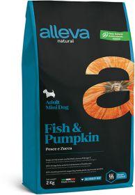 Alleva Natural Fish & Pumpkin Mini (Аллева Нейчурал Рыба и Тыква для собак мелких пород) 2кг