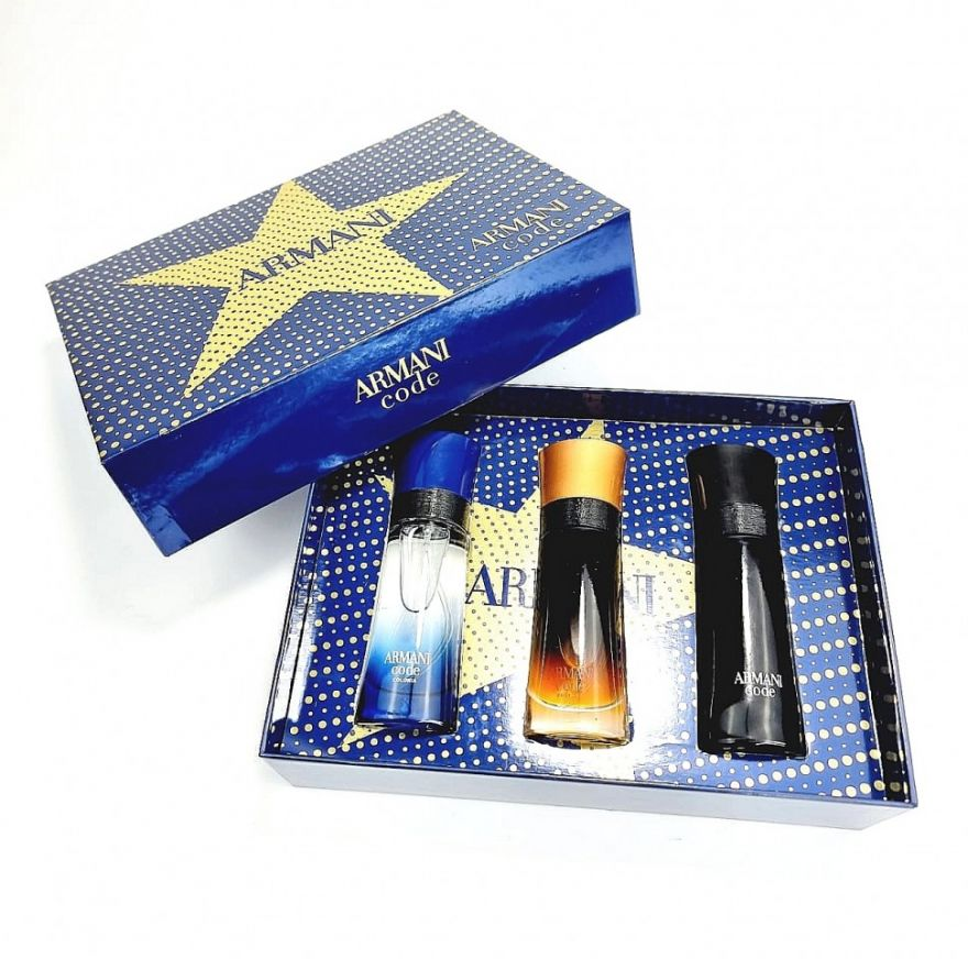 Подарочный набор Giorgio Armani For MEN 3x30 мл