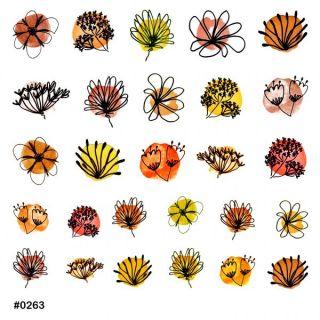 Слайдер-дизайн для ногтей № 0263