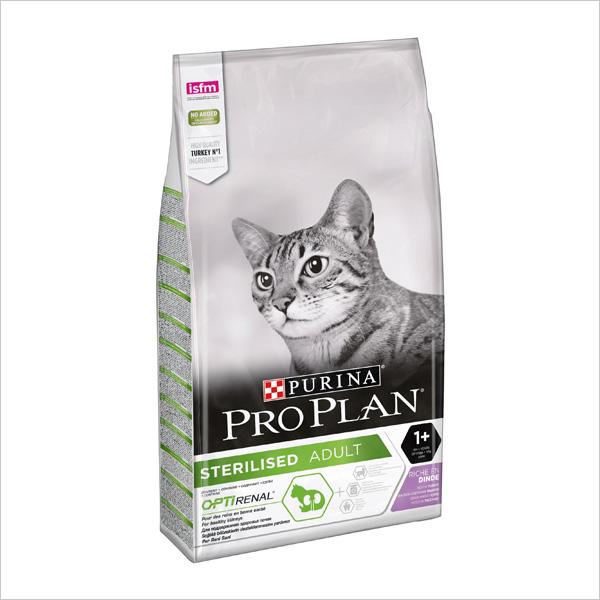Сухой корм для стерилизованных кошек Pro Plan Sterilised OPTIRenal с индейкой 1.5 кг