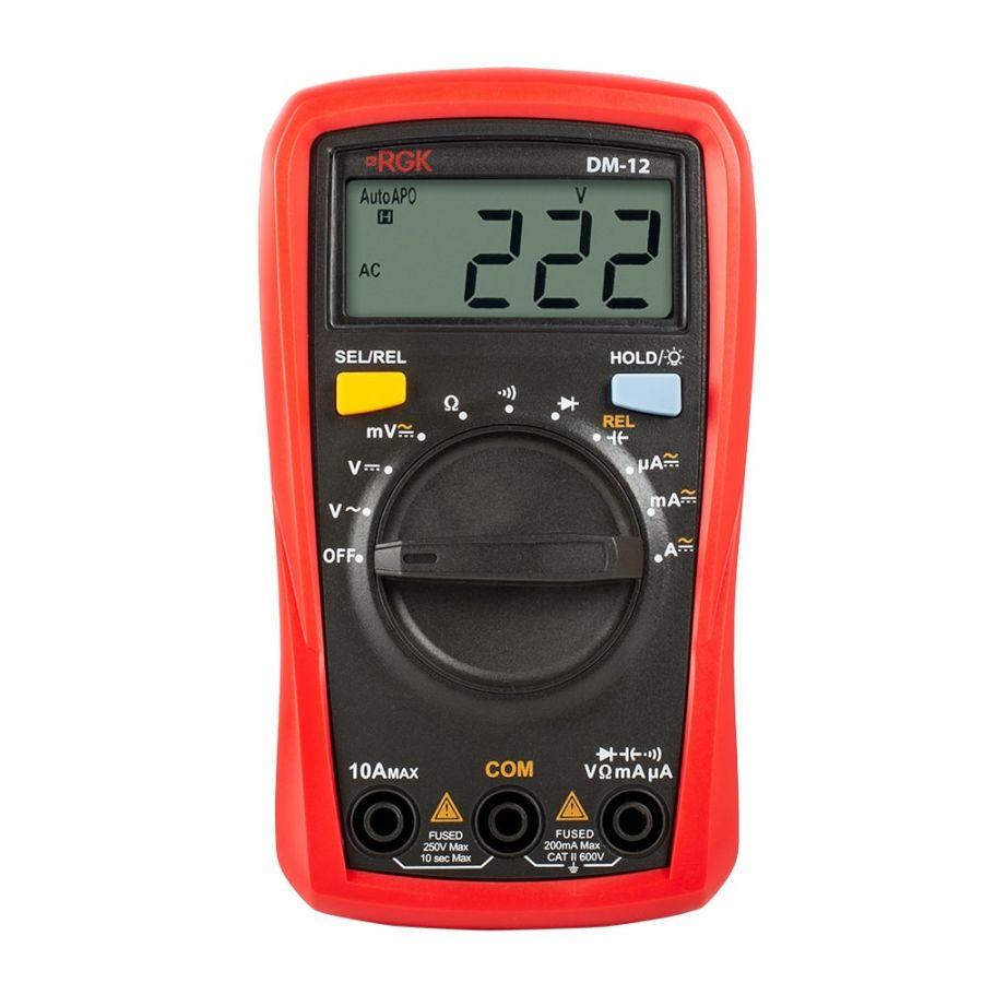 Мультиметр RGK DM-12