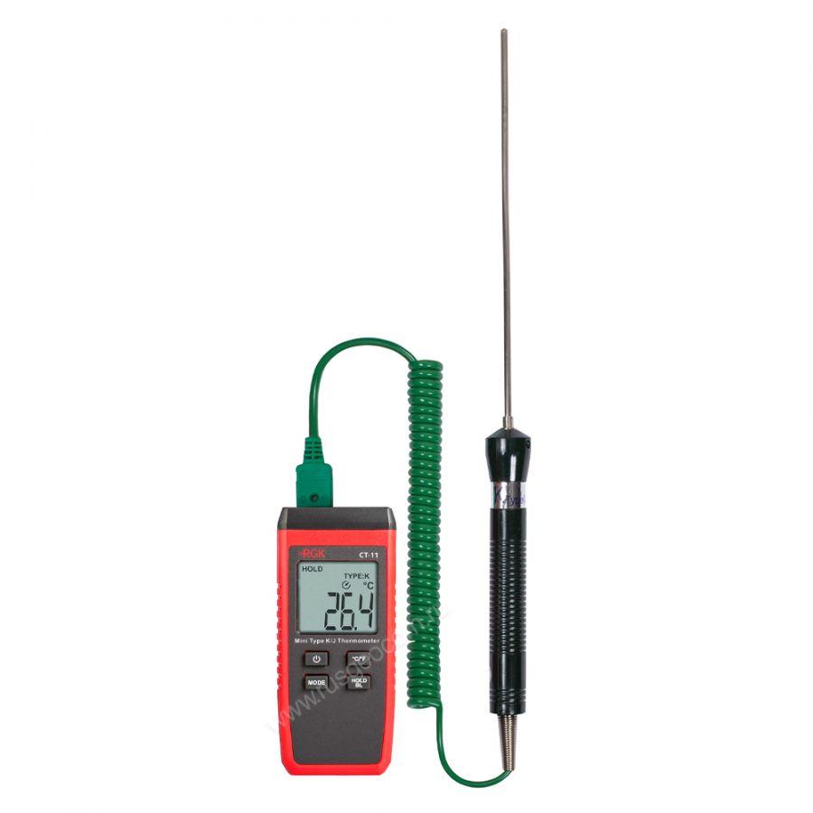 Термометр RGK CT-11 с погружным зондом температуры TR-10W