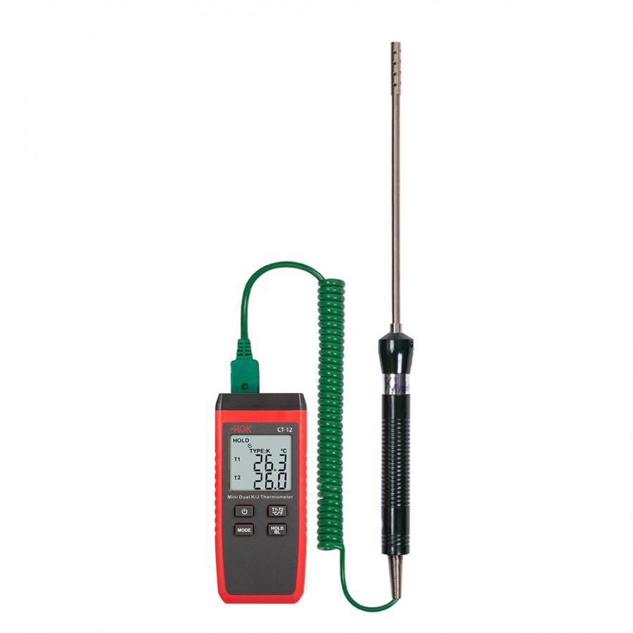 Термометр RGK CT-12 с зондом температуры воздуха TR-10A