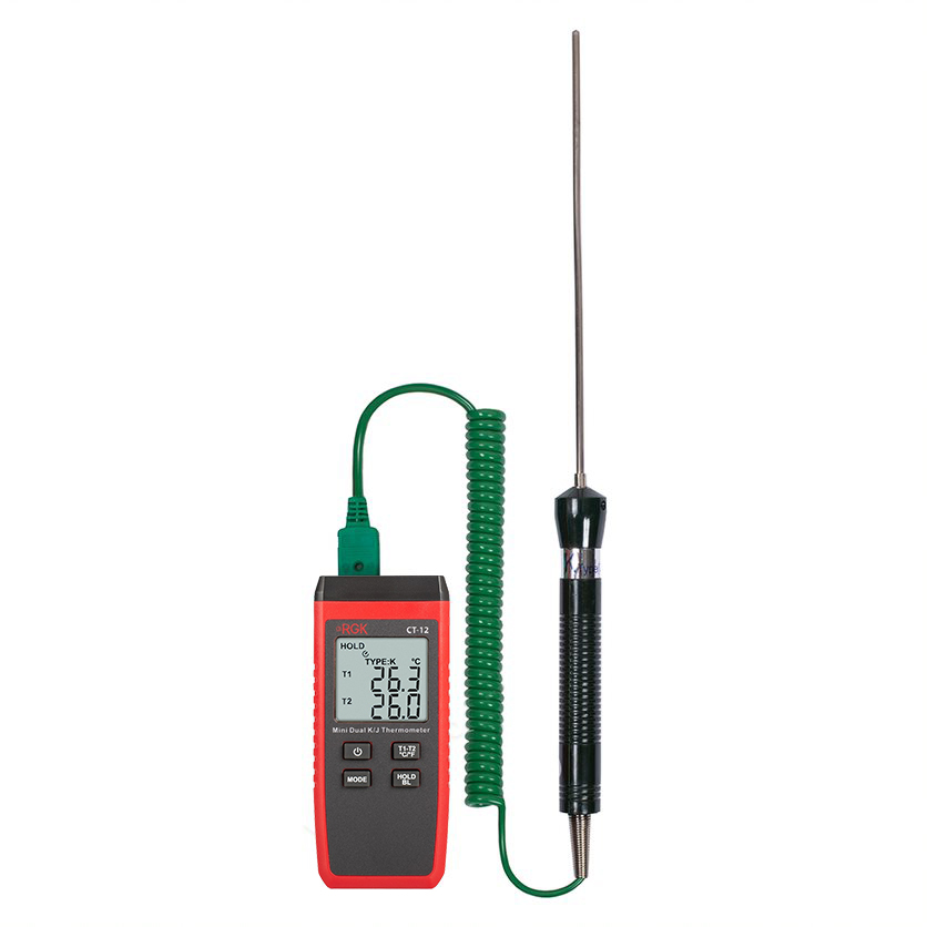 Термометр RGK CT-12 с погружным зондом температуры TR-10W