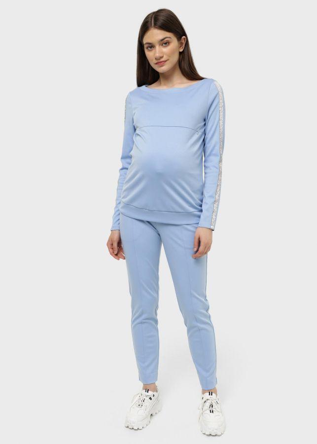 """Костюм """"Кэмерон"""" для беременных и кормящих; цвет: голубой"""