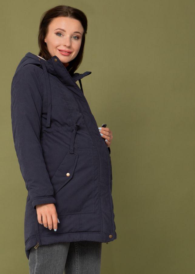 """Куртка демис. 2в1 """"Токио"""" для беременных; цвет: синий"""