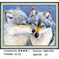 Алмазная мозаика на подрамнике HWA1976