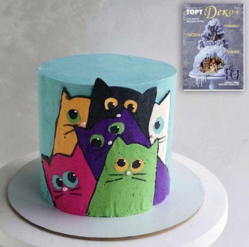 Журнал 'ТортДеко+' №4 2019 - Детские Торты (Электронная версия)[Сakedeco учимся украшать торты]