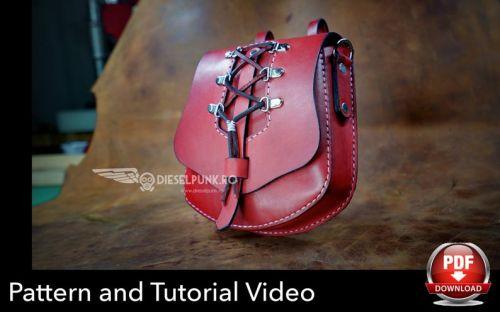 Женская поясная сумочка из кожи [DieselpunkRo]