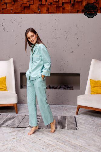 Женская пижамная рубашка Выкройка №544. Размеры 40-48 рост, 164-170 [Grasser]