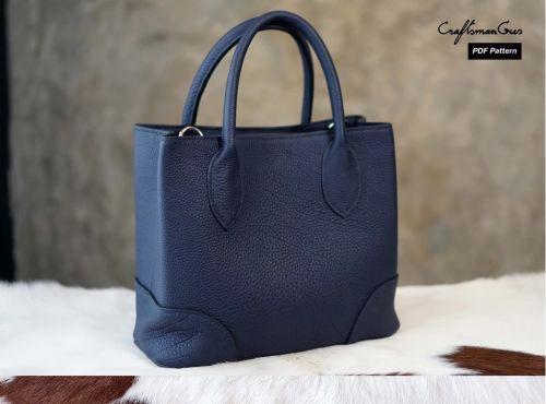 Женская кожаная сумочка [Craftsmangus]
